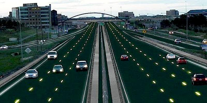 Companies dream up high-tech roadways