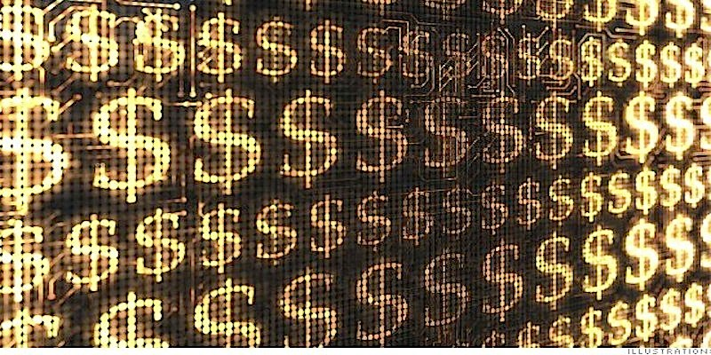 Global rise inmillionaires