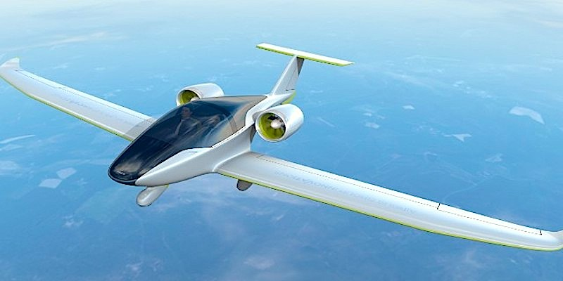 Electric aircraft takes to the skies