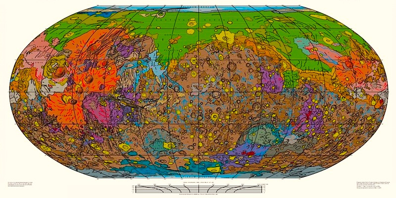 The Map ofMars