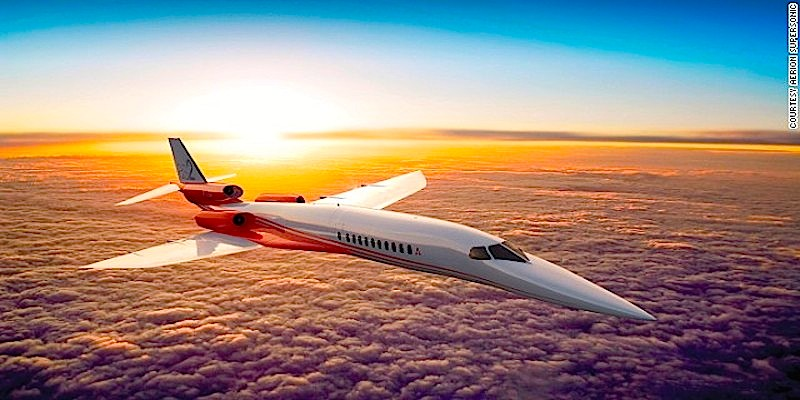 Supersonic business jets