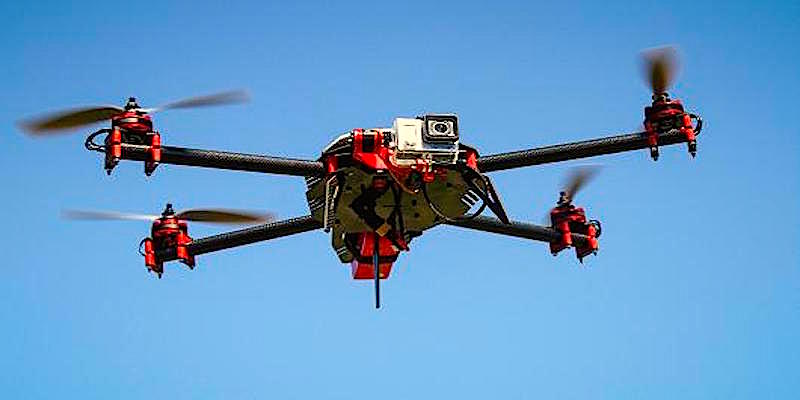 Drones take off and investor money flies in