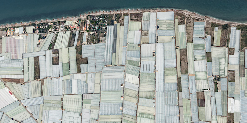 The Plastic Mosaic You Can See From Space: Spain's Greenhouse Complex