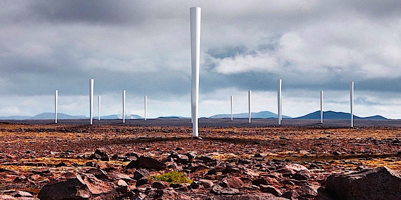 The Future of Wind Turbines? No Blades.