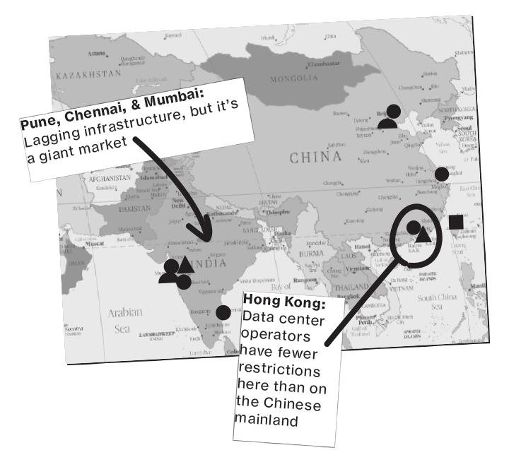 Data Centers Asia
