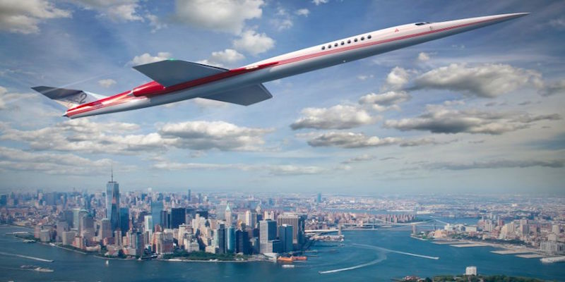 The World's First Supersonic Private Jet Just Landed its First Order