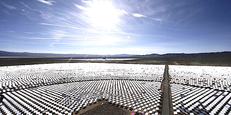 Here's how much of the world would need to be covered in solar panels to power Earth