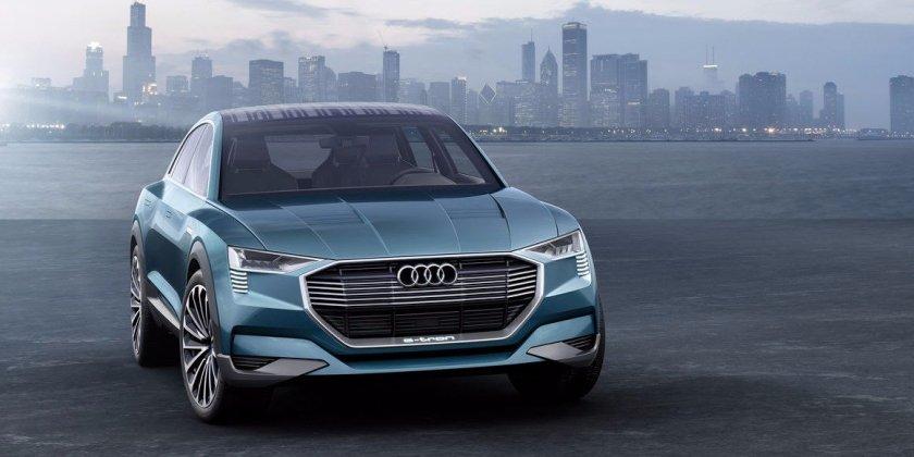 Audi's e-tron quattro