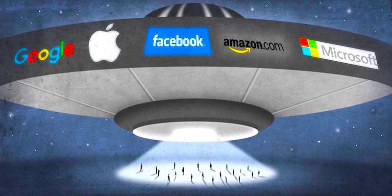 Giants Tighten Grip on InternetEconomy