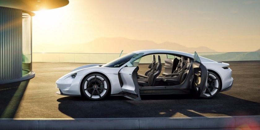 Porsche's Concept Mission E