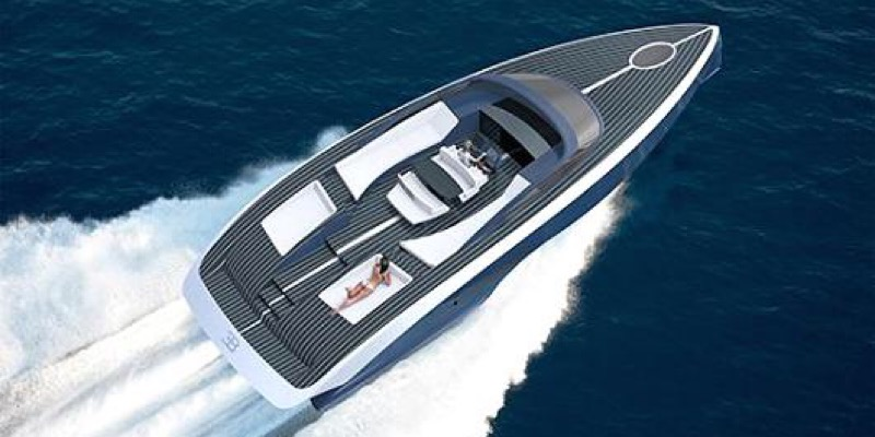 For $2 million, you can own a Bugatti boat