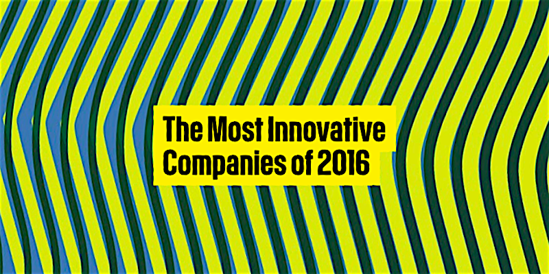 The Most Innovative Companies of2016
