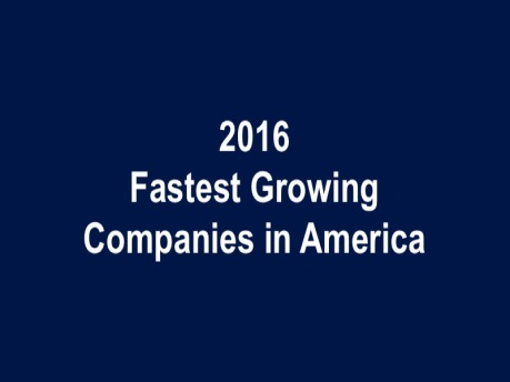 These Are the 10 Fastest-Growing Companies in America in 2016